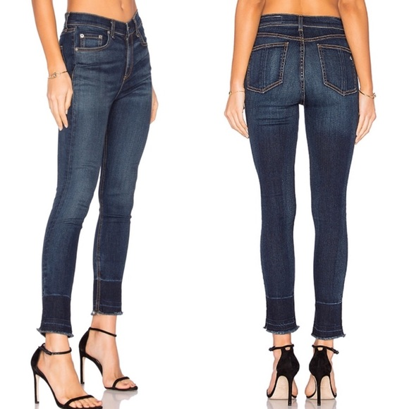 "rag & bone Denim - Rag & Bone 10"" Inch Capri Denim Jeans size 29"